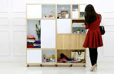 Flip-Door Cabinets