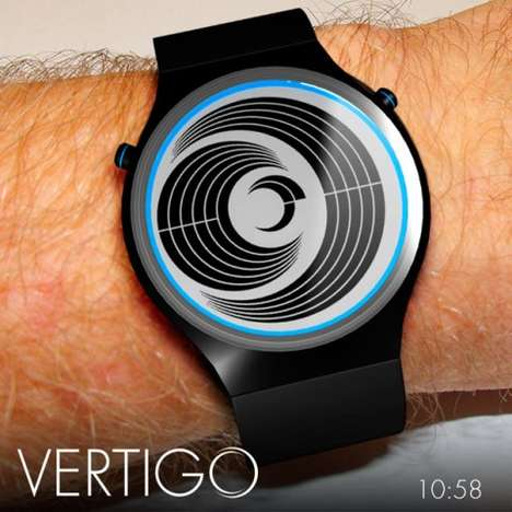 Vertigo LCD watch
