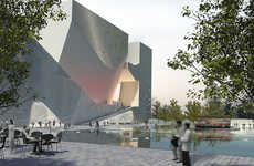 The Tianjin Ecocity by Steven Holl Relieves Dense Chinese Cities