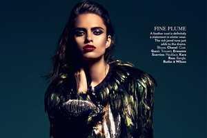 The Vogue India 'High Gloss' Editorial Stars a Glittering Lakshmi Menon