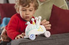 Dry-Erase Playthings - The Scribblers Toy Lets Tots Design and Redesign Their Very Own Trinkets