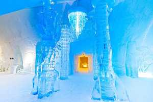 Quebec's Hôtel de Glace is a Whimsical Winter Wonderland