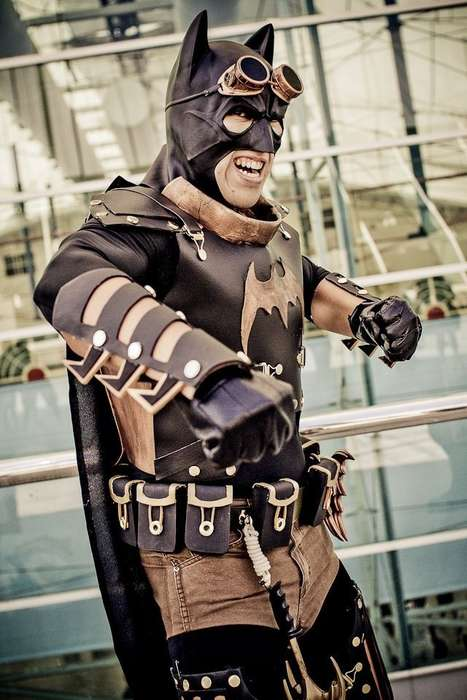 Steampunk Superhero