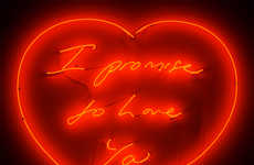 Heartfelt Neon Messages