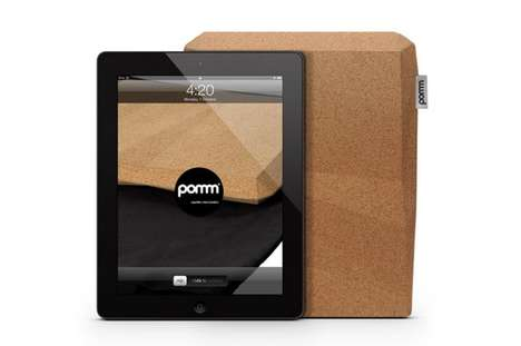 Durable Cork Covers - The 'iCork' Pomm iPad Case Keeps You Protected