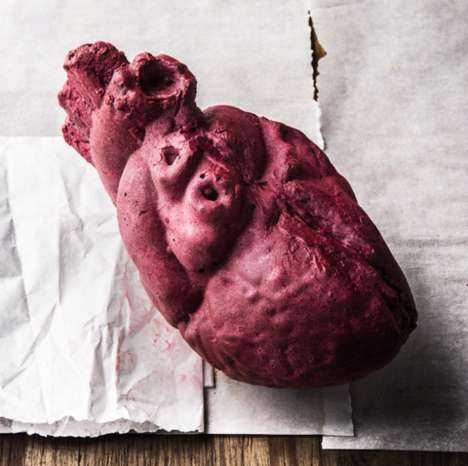 Anatomical Music Packaging - The Flaming Lips Chocolate Hearts Contain a USB of Love Songs
