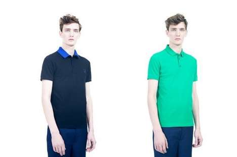 Brazen Preppy Collections - This Fred Perry x Raf Simons Collection is Boldly Refined