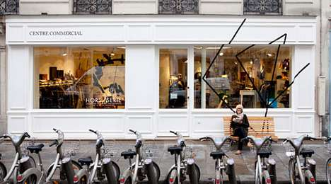 Eclectic Shopping Concepts - The Centre Commercial Incorporates Diverse Products