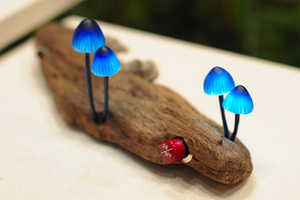 These LED Mushroom Lights Help Immerse Your Space in Nature