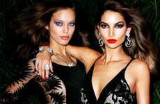 Ferocious Supermodel Editorials