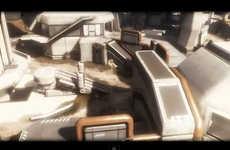Sci-Fi Game Parkour Videos