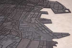 Beirut Map Art by Marwan Rechmaoui Emphasizes Class Differences