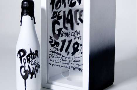Porter de Glace Beer Packaging