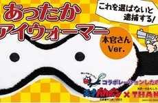 Manga Eye Warmers - These USB-Powered Cartoon Eye Masks Keep Your Eyes Wide Shut