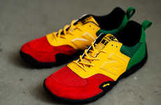 From Rainbow Rasta Toques to Rainbow Rasta-Inspired Runners