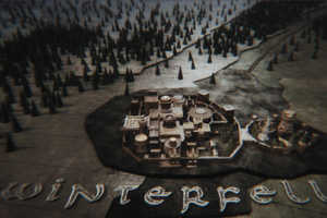 Damm301 Recreates Winterfell from Game of Thrones with a 3D Printer