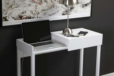 Hidden Laptop Desk