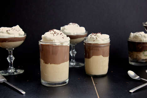 Chocolate and Peanut Butter Pudding