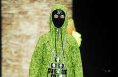 Apocalyptic Ski-Mask Apparel - The Asger Juel Larsen Fall/Winter Collection is