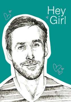 Movie Star Meme Journals - This Ryan Gosling Hey Girl Journal Will Make Your Day Easier