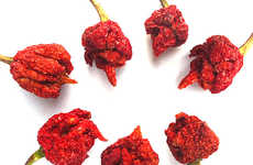 Fiery Hot Dried Peppers