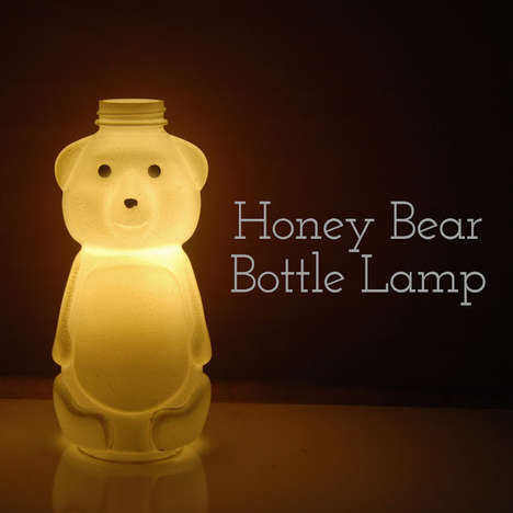 Bear-Shaped Night Lights