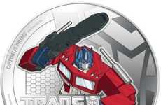 Bionic Machine Currency - The Newly Realeased Transformers New Zealand Coins