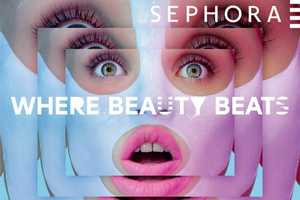 The Sephora 'Where Beauty Beats' Series is a Bold Neon Makeover
