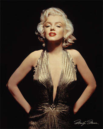 fashion icon marilyn monroe