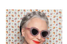 Granny Sunglasses  recycled skateboard sunglasses update proof sunglasses