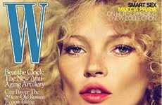 From Sultry Kate Moss Editorials to Hollywood Glam Model Covers