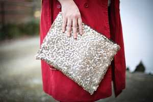This DIY Project Lets You Easily Accentuate Your Purse with Sequins