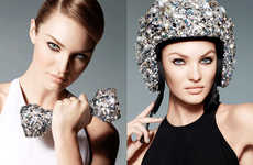 Swarovski S/S 2013 Campaign Features Crystallized Sport Accessories