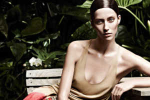 The Akris Spring/Summer 2013 Campaign is Shot in the Foliage