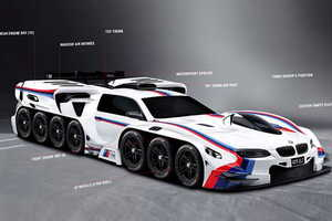 This Creative Car Design by a Four Year Old Was Actualized by BMW