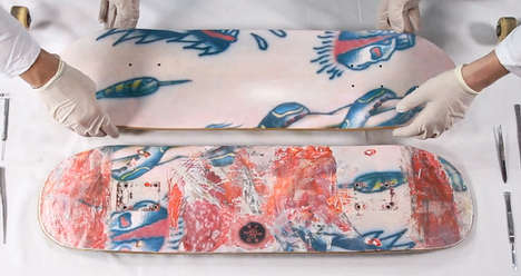 marc jacobs skateboard deck