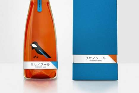 Riceenoir Sake Packaging