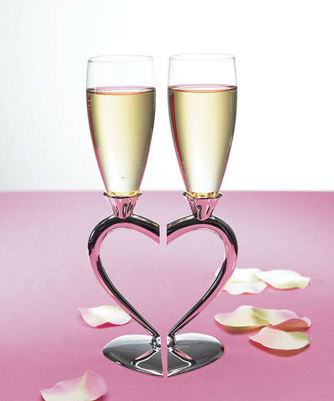 Heart Stem Glasses By Belle