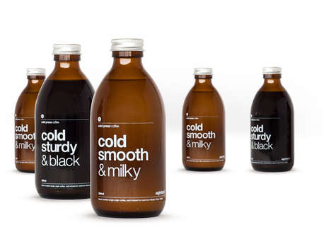 Medicine Bottle Brew Branding - Eighthirty Coffee Packaging Was Cured of a Comparatively Bland Image