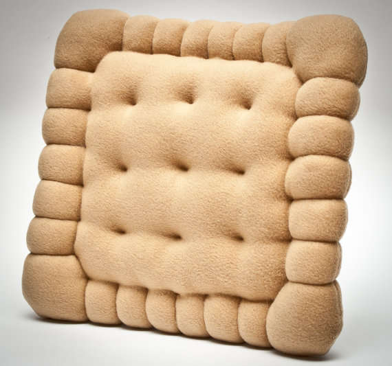 Plush Biscuit Cushions