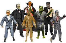 Monstrous Presidential Figurines - Presidential Monsters Turns Famous Leaders into Ghastly Ghouls