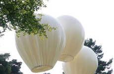 Helium-Suspended Bridges