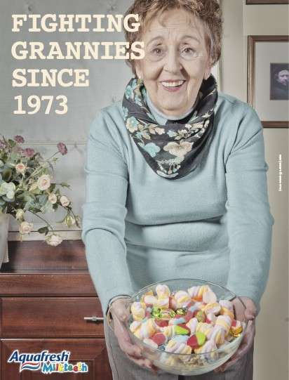 Granny-Incorporated Ads