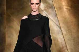 The Donna Karan Fall 2013 Ready-to-Wear Runway is Dark & Ominous