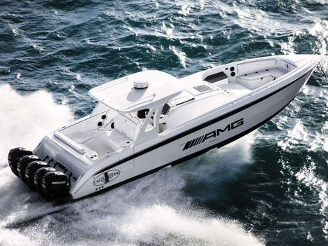 Luxury Automaker Speedboats (UPDATE) - The Cigarette 42