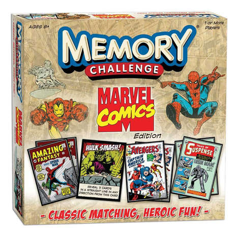 Marvel Memory Game