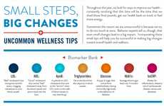 The Infographic Tells You How to Lead a Healthier Life