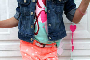 This DIY Project Lets You Adorn Your Clothing with Cute Heart Prints