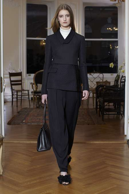 Masterfully Minimal Streetwear - The Row Fall 2013 Collection Exudes Effortless Sophistication