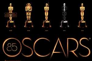 Olly Moss Redesigns all of the Oscars Awards Over the Years